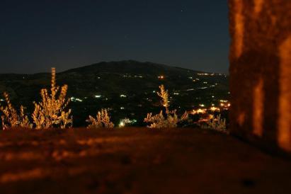 La notte è luminosa...